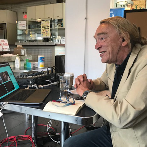 Live-streaming behind the scenes at the Eugene-a-Thon with Eugene Strickland